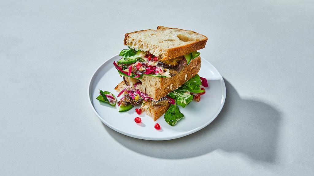 Oliver Green | Sandwiches | OG's Sabich © Kubilay Altintas