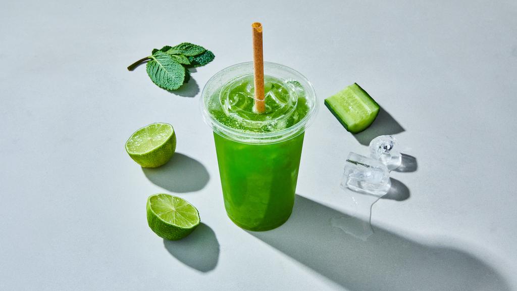 Oliver Green | Iced Drinks | Cucumber Mint Cooler © Kubilay Altintas